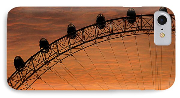 London Eye Sunset IPhone Case by Martin Newman