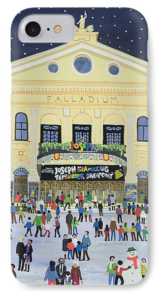 London Palladium   Joesph IPhone Case by Judy Joel
