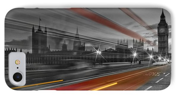 London Red Bus IPhone 7 Case by Melanie Viola