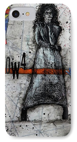 Lonecrow IPhone Case by Laura Lein-Svencner