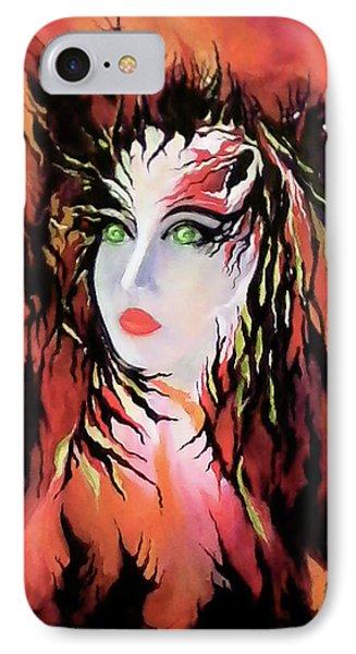 Lonely Angel Of God IPhone Case by Carmen Fine Art