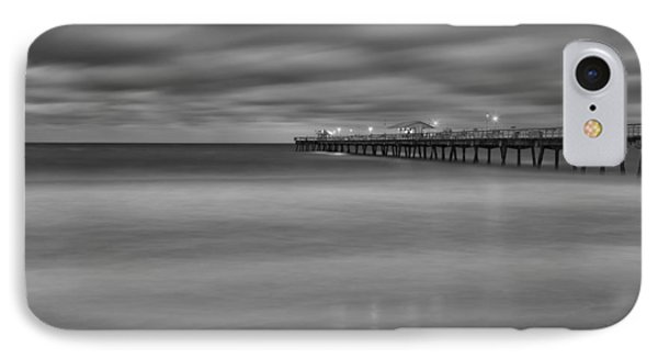 Lonely Morning At The Pier IPhone Case by Andres Leon