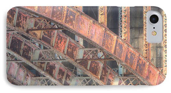 Longfellow Bridge Arches IIi Phone Case by Clarence Holmes