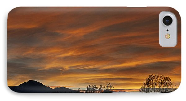 Long's Peak Sunset IPhone Case by Michael Knight