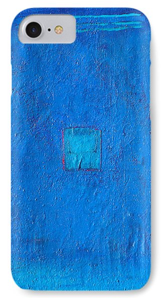 Lost In The Blue IPhone Case by Habib Ayat