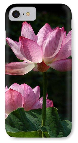 Lotus Beauties--upstaged Dl048 Phone Case by Gerry Gantt