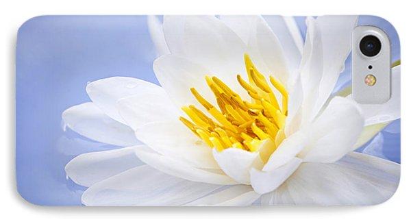 Lotus Flower IPhone 7 Case by Elena Elisseeva