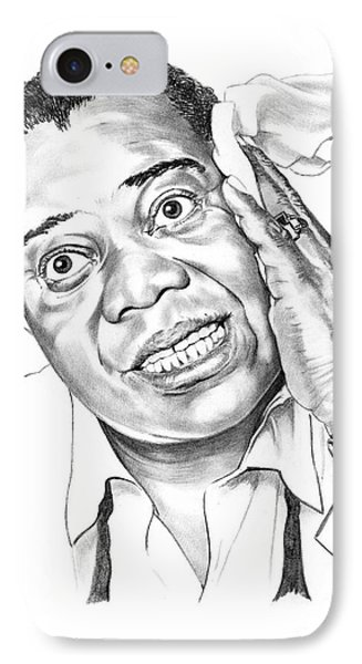 Louis Satchmo Armstrong Phone Case by Murphy Elliott