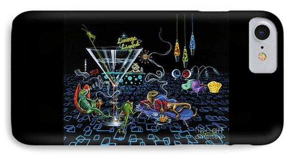 Lounge Lizard IPhone Case by Michael Godard