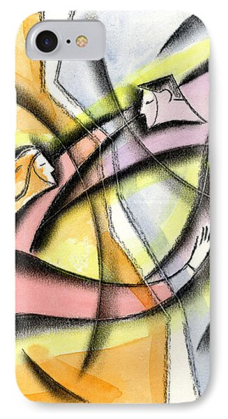 Love And Liberty IPhone Case by Leon Zernitsky