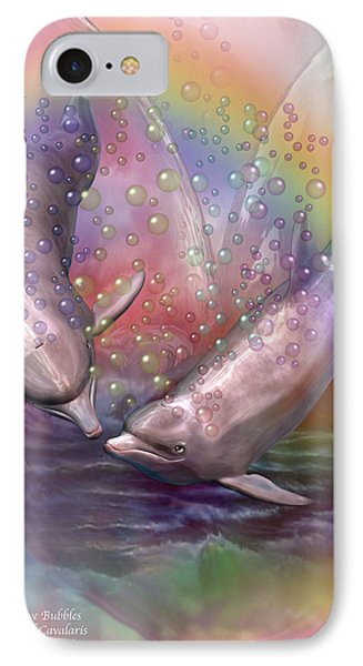 Love Bubbles IPhone Case by Carol Cavalaris