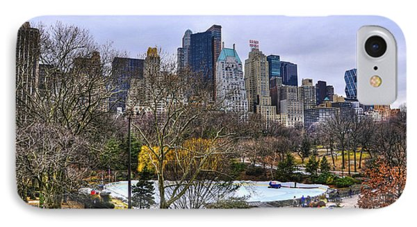 Love In Central Park Too Phone Case by Randy Aveille