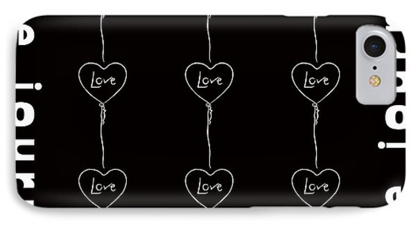 Love Journey IPhone Case by Toppart Sweden