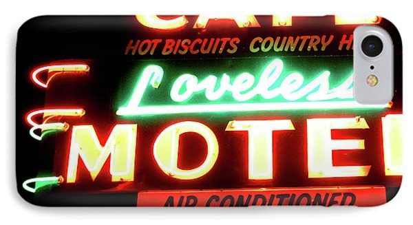 Loveless Cafe- Art By Linda Woods IPhone Case by Linda Woods
