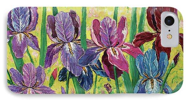 Lovely Garden IPhone Case by Kristian Leov