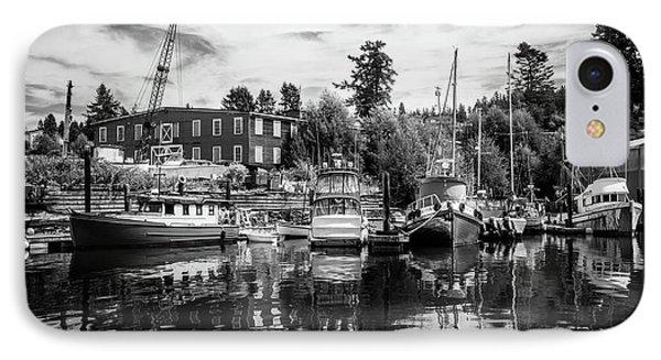 Lovric's Sea Craft Washington IPhone Case by TL Mair