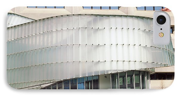 Low Angle View Of A Building, Dr. A. H IPhone Case by Panoramic Images
