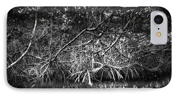 Low Tide Bw IPhone Case by Marvin Spates