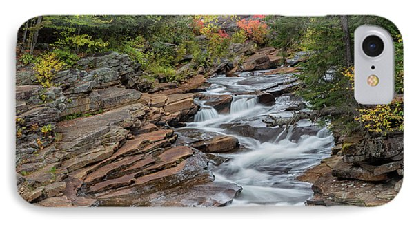 Lower Ammonoosuc Falls IPhone Case by Bill Wakeley