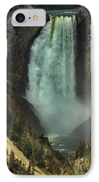 Lower Waterfalls IPhone Case by Robert Bales