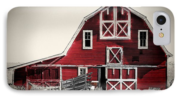 Luna Barn IPhone Case by Mindy Sommers