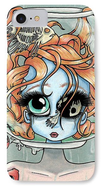Lying Is The Most Fun... IPhone Case by Shaz Justice