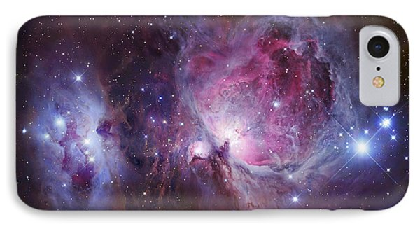 M42, The Orion Nebula Top, And Ngc IPhone Case by Robert Gendler
