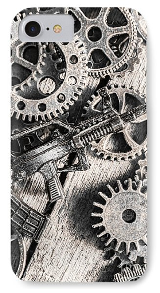 Machines Of Military Precision  IPhone Case by Jorgo Photography - Wall Art Gallery