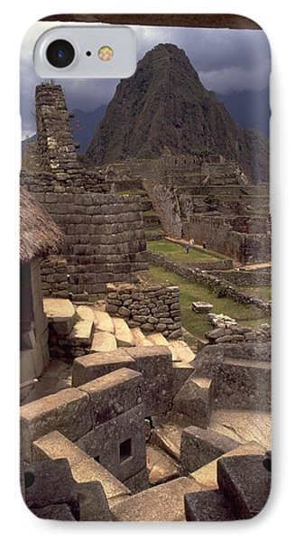 IPhone 7 Case featuring the photograph Machu Picchu by Travel Pics