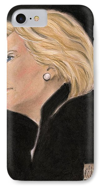 Madame President IPhone 7 Case by P J Lewis