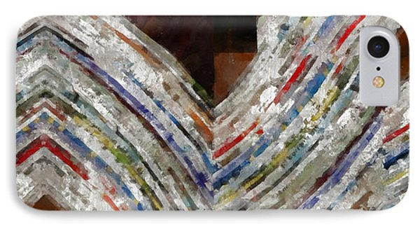 Mag 5 Abstract Painting IPhone Case by Edward Fielding