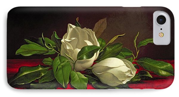 Magnolia IPhone Case by Martin Johnson Heade