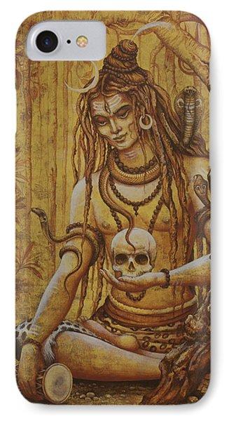 Mahadev. Shiva IPhone Case by Vrindavan Das