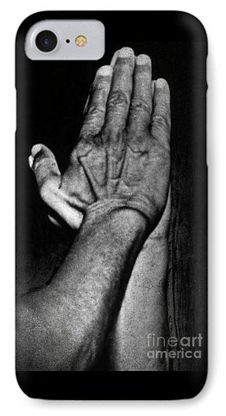Mahatma Gandhi In Greeting Pose IPhone Case by Indian School