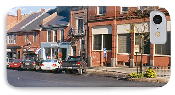 Main Street In Belfast, Maine IPhone Case by Panoramic Images