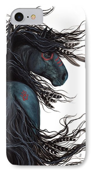 Majestic Horse Friesian 135 IPhone Case by AmyLyn Bihrle