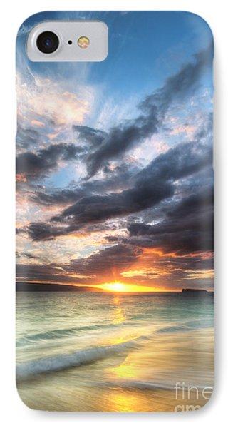Makena Beach Maui Hawaii Sunset IPhone Case by Dustin K Ryan