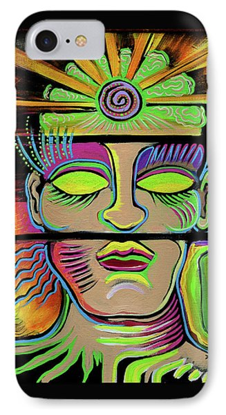 Male Energy IPhone Case by Melissa Wyatt