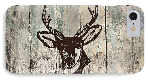 Mancave Deer Rack IPhone Case by Mindy Sommers
