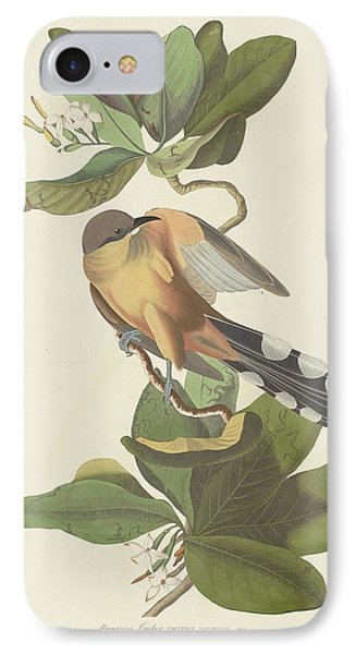 Mangrove Cuckoo IPhone Case by John James Audubon