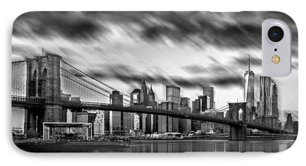 Manhattan Moods IPhone Case by Az Jackson