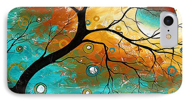 Many Moons Ago By Madart Phone Case by Megan Duncanson