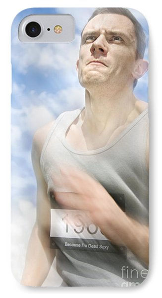 Marathon Motions IPhone Case by Jorgo Photography - Wall Art Gallery