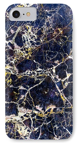 Marble Stone Texture Wall Tile IPhone Case by John Williams