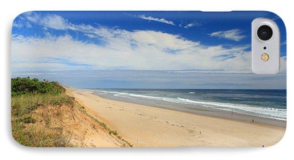 Marconi Beach Cape Cod National Seashore Phone Case by John Burk