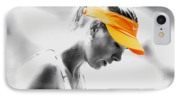 Maria Sharapova Stay Focused IPhone Case by Brian Reaves