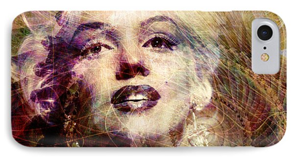 Marilyn IPhone 7 Case by Barbara Berney