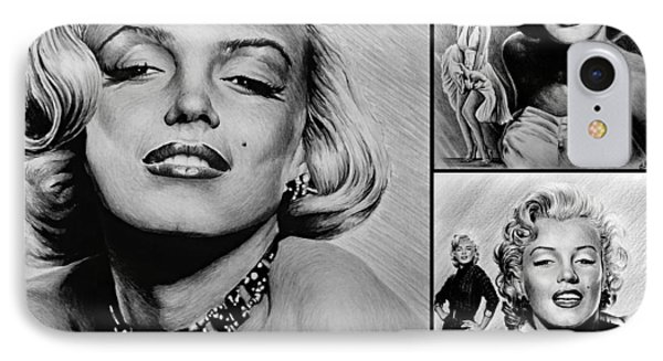 Marilyn Collage 2 IPhone Case by Andrew Read