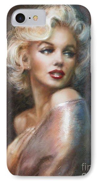 Marilyn Ww Soft IPhone 7 Case by Theo Danella