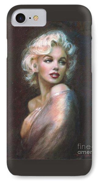 Marilyn Ww  IPhone Case by Theo Danella